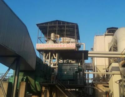 内蒙古首套SDS干法脱硫+SCR中低温脱硝工程验收完成